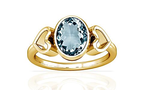 Aquamarine Gold Ring (A12)