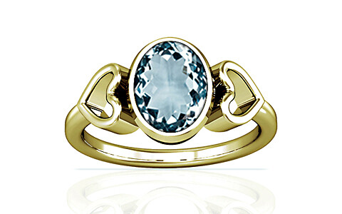 Aquamarine Panchdhatu Ring (A12)