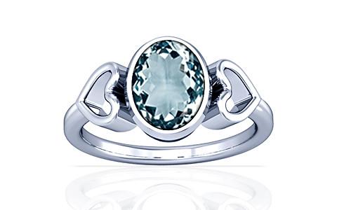Aquamarine Silver Ring (A12)
