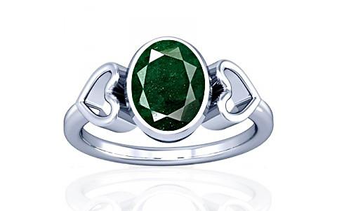 Aventurine Silver Ring (A12)