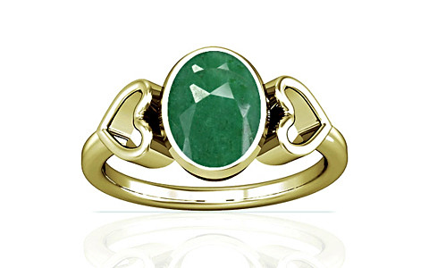 Green Beryl Panchdhatu Ring (A12)