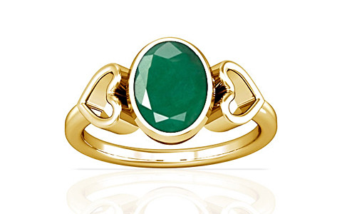 Emerald Gold Ring (A12)