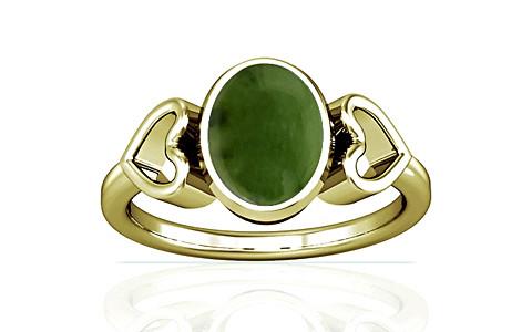 Nephrite Jade Panchdhatu Ring (A12)