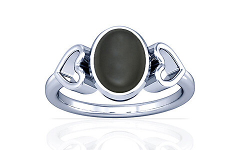 Gray Moonstone Silver Ring (A12)