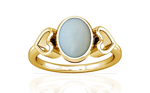 Moonstone Gold Ring (A12)