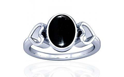 Black Onyx Silver Ring (A12)