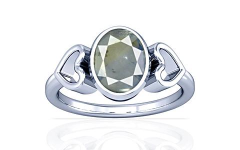 Pitambari Neelam Sterling Silver Ring (A12)