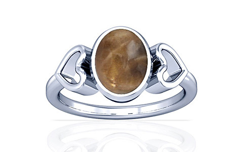 Sunstone Silver Ring (A12)