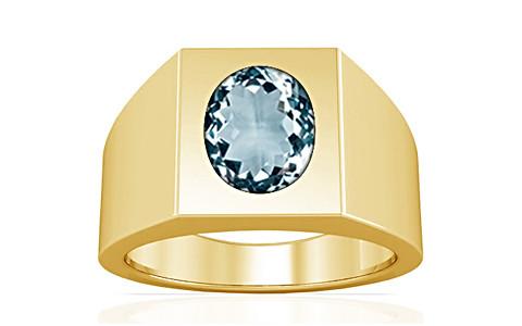 Aquamarine Gold Ring (A13)