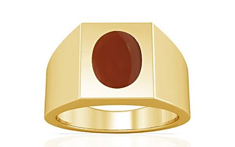 Carnelian Gold Ring (A13)