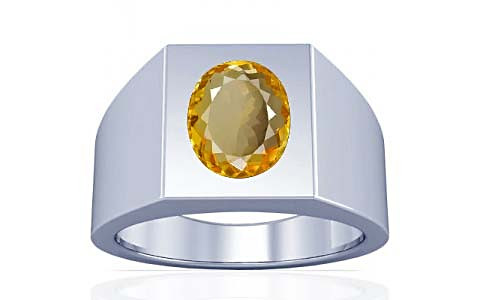 Citrine Silver Ring (A13)