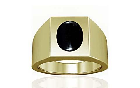 Black Onyx Panchdhatu Ring (A13)