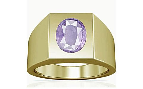 Purple Sapphire Panchdhatu Ring (A13)