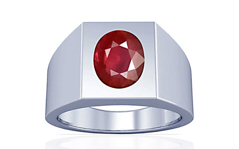 Ruby Silver Ring (A13)