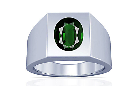 Tourmaline Silver Ring (A13)