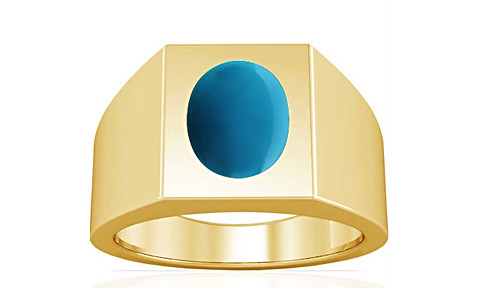 Turquoise Gold Ring (A13)