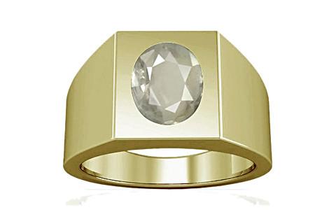 White Sapphire Panchdhatu Ring (A13)