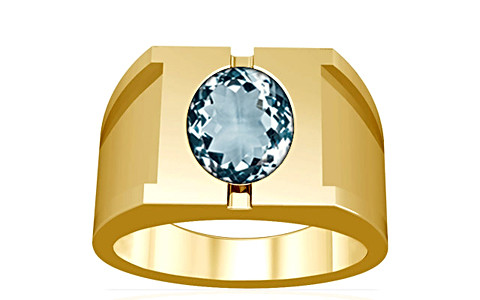 Aquamarine Gold Ring (A15)