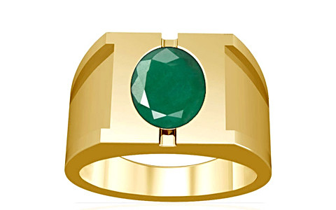 Emerald Gold Ring (A15)