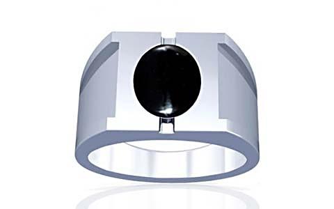 Black Onyx Silver Ring (A15)