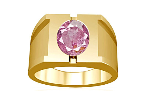 Pink Sapphire Gold Ring (A15)
