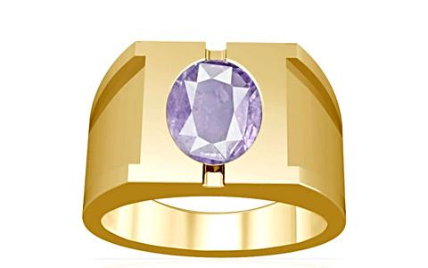 Purple Sapphire Gold Ring (A15)