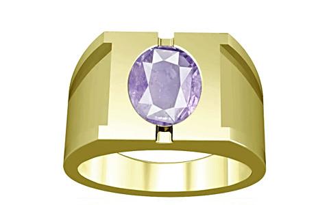 Purple Sapphire Panchdhatu Ring (A15)