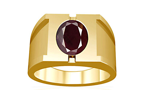 Indian Ruby Gold Ring (A15)