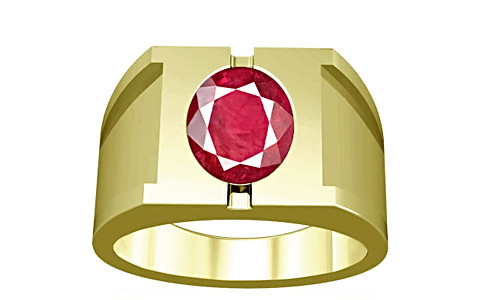 Ruby (Old Burma) Panchdhatu Ring (A15)