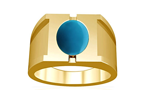 Turquoise Gold Ring (A15)