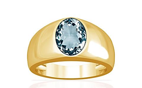 Aquamarine Gold Ring (A16)