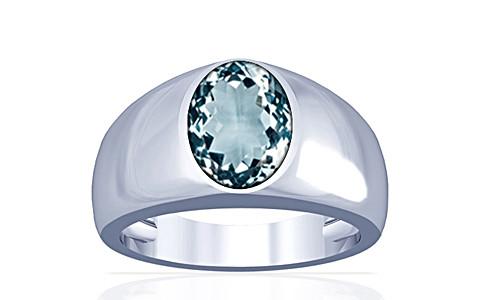 Aquamarine Silver Ring (A16)