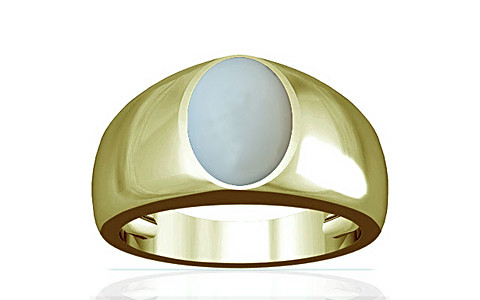 Moonstone Panchdhatu Ring (A16)