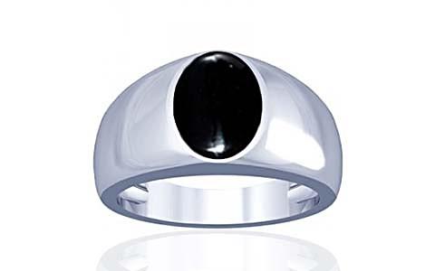 Black Onyx Silver Ring (A16)