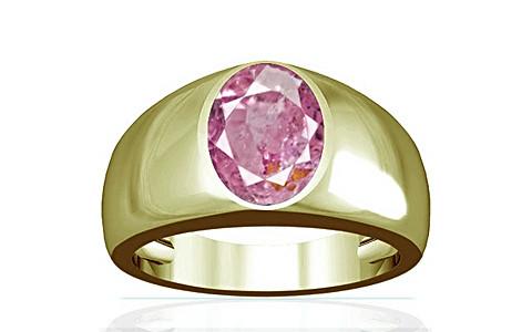 Pink Sapphire Panchdhatu Ring (A16)