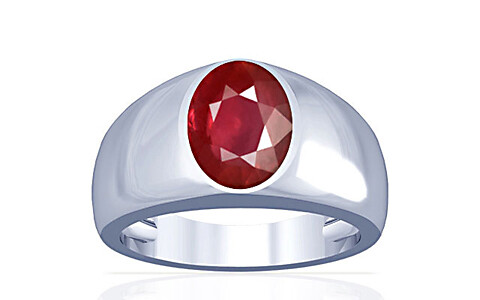 Ruby Silver Ring (A16)
