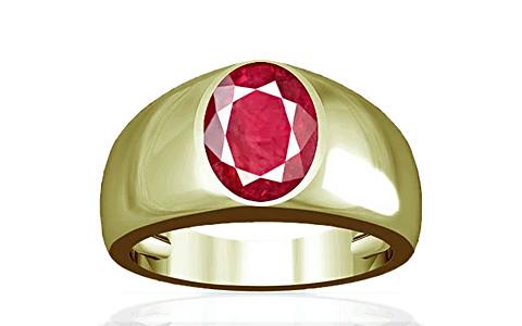 Ruby (Old Burma) Panchdhatu Ring (A16)