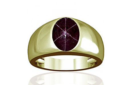 Star Ruby Panchdhatu Ring (A16)
