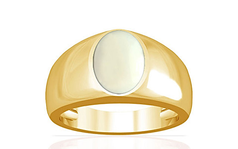 White Coral Gold Ring (A16)