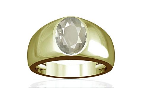 White Sapphire Panchdhatu Ring (A16)