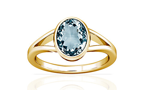 Aquamarine Gold Ring (A2)