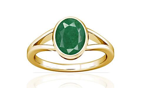 Green Beryl Gold Ring (A2)
