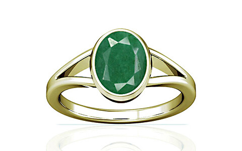 Green Beryl Panchdhatu Ring (A2)