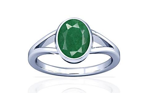 Green Beryl Sterling Silver Ring (A2)