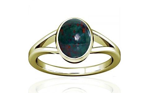 Bloodstone Panchdhatu Ring (A2)