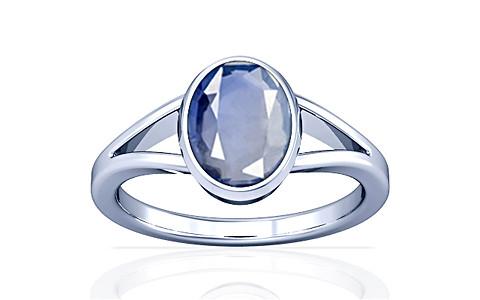 Blue Sapphire Silver Ring (A2)