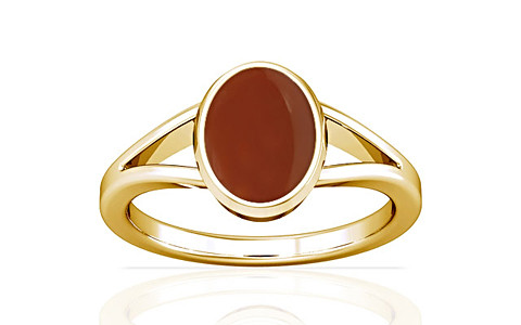 Carnelian Gold Ring (A2)