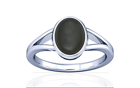 Gray Moonstone Silver Ring (A2)