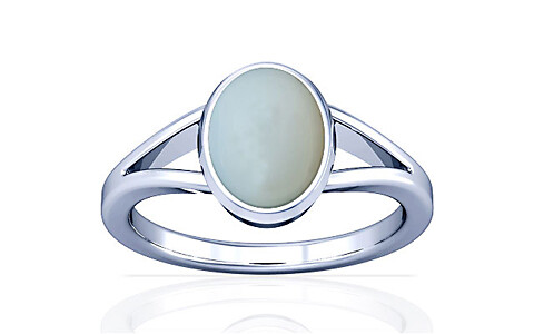 Moonstone Silver Ring (A2)