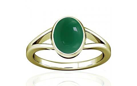 Green Onyx Panchdhatu Ring (A2)